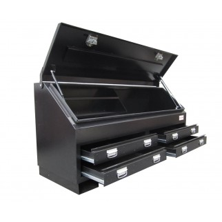 Steel pick-up toolbox
