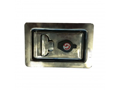 Bevola lock stainless steel