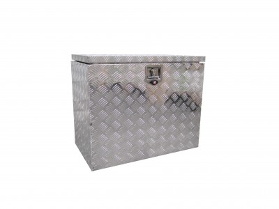 aluminum checkerplate toolbox trailer