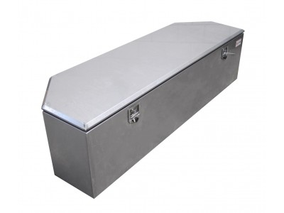 Stainless steel trailer toolbox