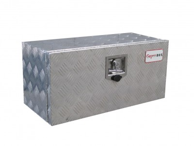 Aluminum underbody toolboxes