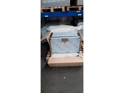 800X400X500 Sonderborg RVS 1,5 mm met 3 lades