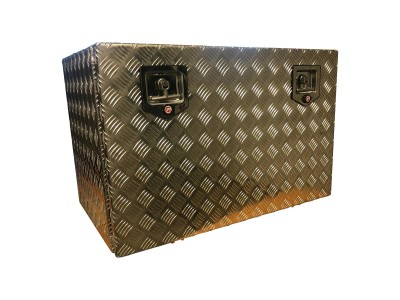 Underbody Toolbox Aluminum Checkerplate
