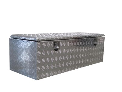 aluminum checkerplate toolbox