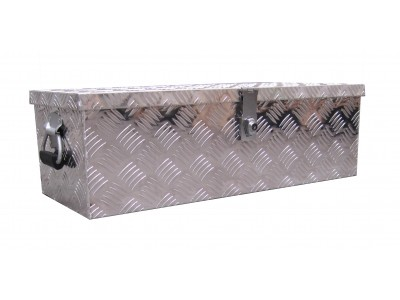 Aluminum trailer toolbox