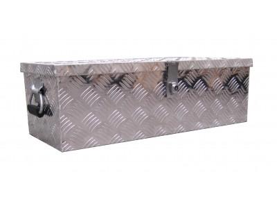 Aluminum trailer toolbox
